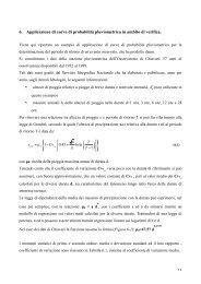 6. Applicazione di curve di probabilità ... - idrologia@polito