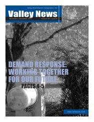 November-December - Valley Rural Electric Cooperative