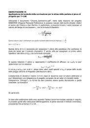 testo_ESERCITAZIONE VI.pdf - idrologia@polito