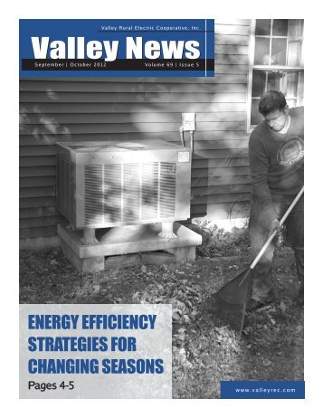 September-October - Valley Rural Electric Cooperative