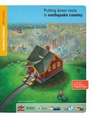 Putting down roots in earthquake country - Webspace