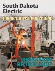 May - South Dakota Rural Electric Association