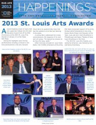 March - April 2013 - Arts and Education Council