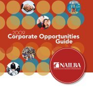 Corporate Opportunities Guide - NAILBA