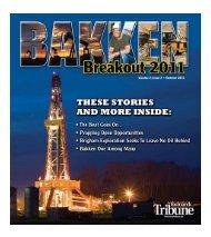 Volume 2, Issue 2 • Summer 2011 - North Dakota Petroleum Council