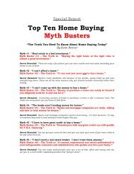10 Home Buying Myths You Should Not Believe - Top Producer ...