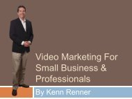 Video Marketing For Small Business & Professionals - Top Producer ...