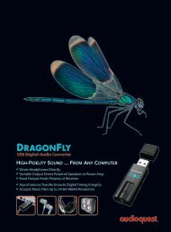 to Download the Audioquest Dragonfly USB DAC ... - Elusive Disc