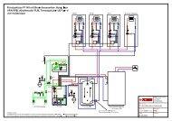 Prinzipskizze F1145 mit Brauchwasserbereitung über - Nibe