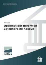 Opsionet për Reformë Zgjedhore në Kosovë - indep