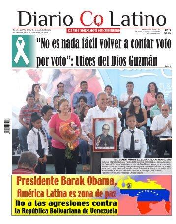 Edición 18 de Abril de 2015