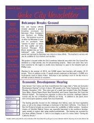 December 2011 / January 2012 Volume 5, Issue 1 - City of Yreka