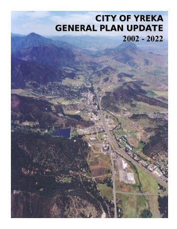 General Plan - City of Yreka
