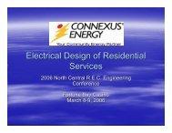 Electrical Design of Residential Services - usgweb.com