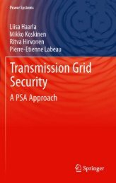 Transmission Grid Security: A PSA Approach (Power Systems)