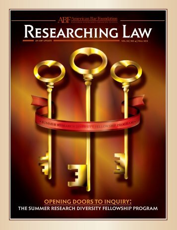 opening doors to inquiry: - American Bar Foundation