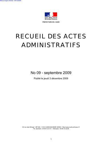 Raa_Septembre_2009 - AUDE