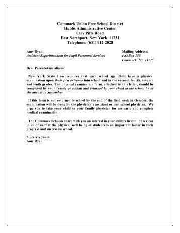 Sample Health Certificate/Appraisal Form - p-12