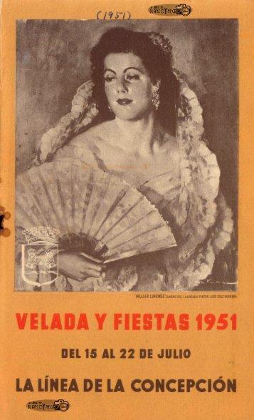 Programa de Mano Velada de 1951