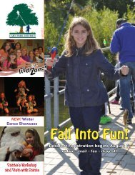 Fall Into Fun! - Cary Park District
