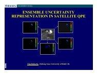 ensemble uncertainty representation in satellite qpe - HEPEX