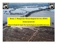 Bonta. I. Hungarian Meteorological Service (HMS) bonta.i ... - HEPEX