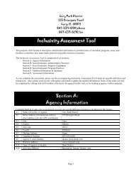 Programming Review and Audit - Cary Park District