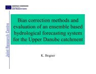 Bias correction methods and evaluation of an ensemble ... - HEPEX