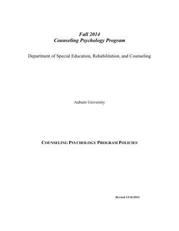 Psychology programs of instruction