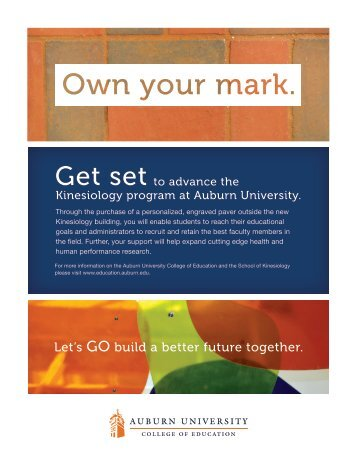 Get set - College of Education - Auburn University