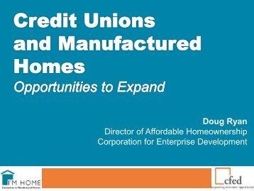 Doug Ryan Director of Affordable Homeownership Corporation for ...