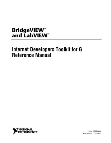 fuzzy logic for g toolkit reference manual national instruments rh yumpu com labview g programming reference manual LabVIEW Examples