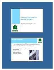 CORROSION MITIGATION IN BALCONY REPAIRS What is ...
