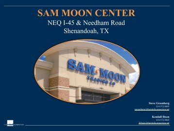 SAM MOON CENTER - The Retail Connection