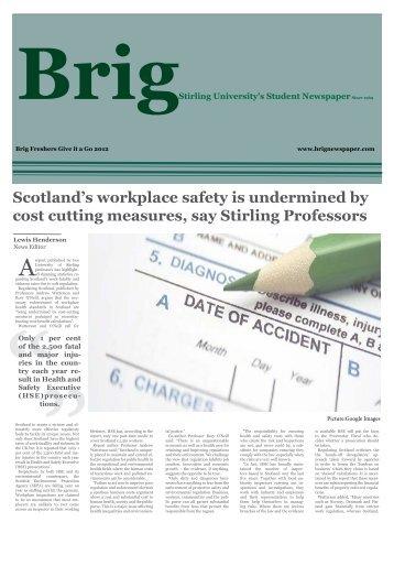 September 2012 GIAG Edition - Brig Newspaper