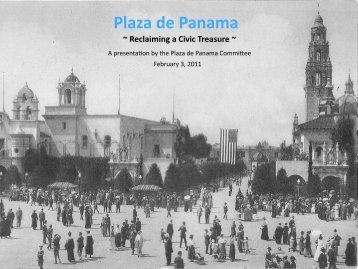 Plaza de Panama - Balboa Park