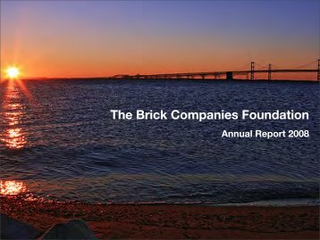 The Brick Companies Foundation