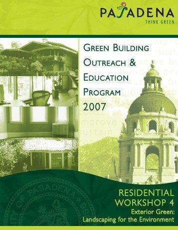 Green Landscaping - City of Pasadena