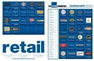 restaurant clients - The Retail Connection