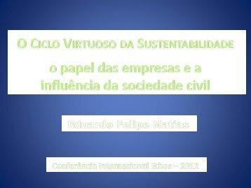 Impactos da relação empresas e sociedade civil na nova ... - Uniethos
