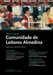 Folheto/Cartaz ciclo Comunidade de ... - Livraria Almedina
