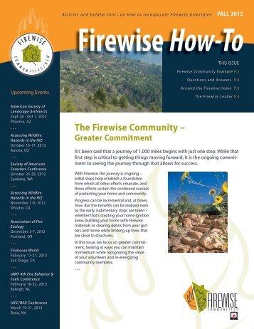 Fall - Firewise