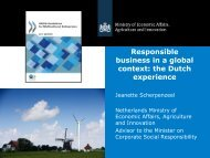 Responsible business in a global context: the Dutch ... - Uniethos