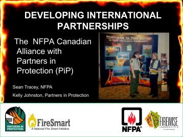 Developing International Partnerships: The NFPA ... - Firewise