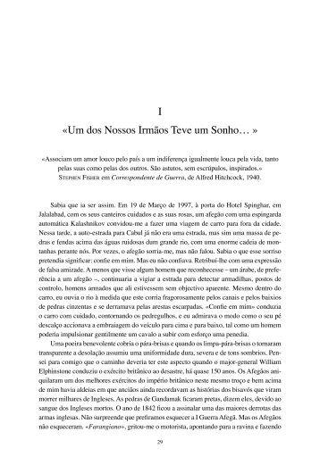 os primeiros quatro capítulos - Livraria Almedina