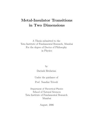 1784 KB pdf file - Department of Theoretical Physics - Tata Institute ...