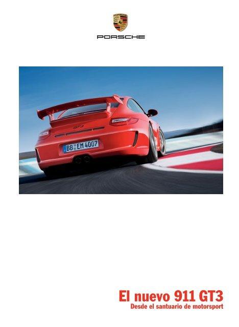 El nuevo 911 GT3