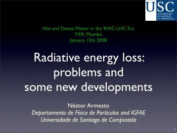 Radiative energy loss: problems and new developments