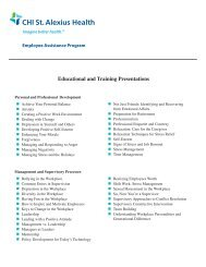 2013 Educational & Training Presentations