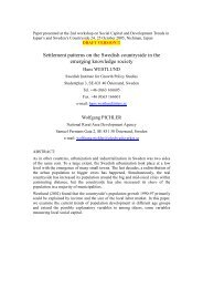 Abstract prepared for the 2nd workshop on Social Capital and ...